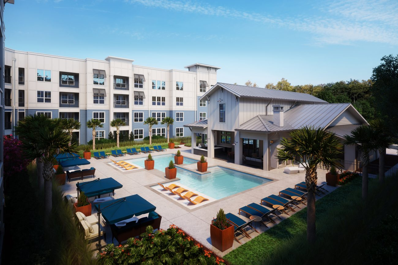 Exterior Rendering of Atlantic Summerville