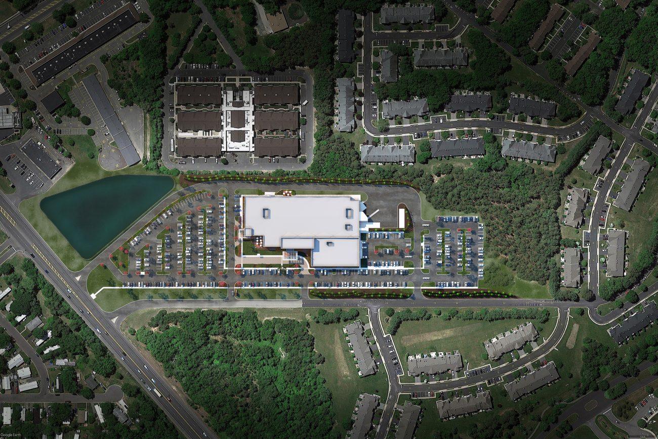 Site Rendering of VA in Brick, NJ