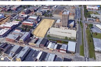 3D Site Plan of Parking Garage