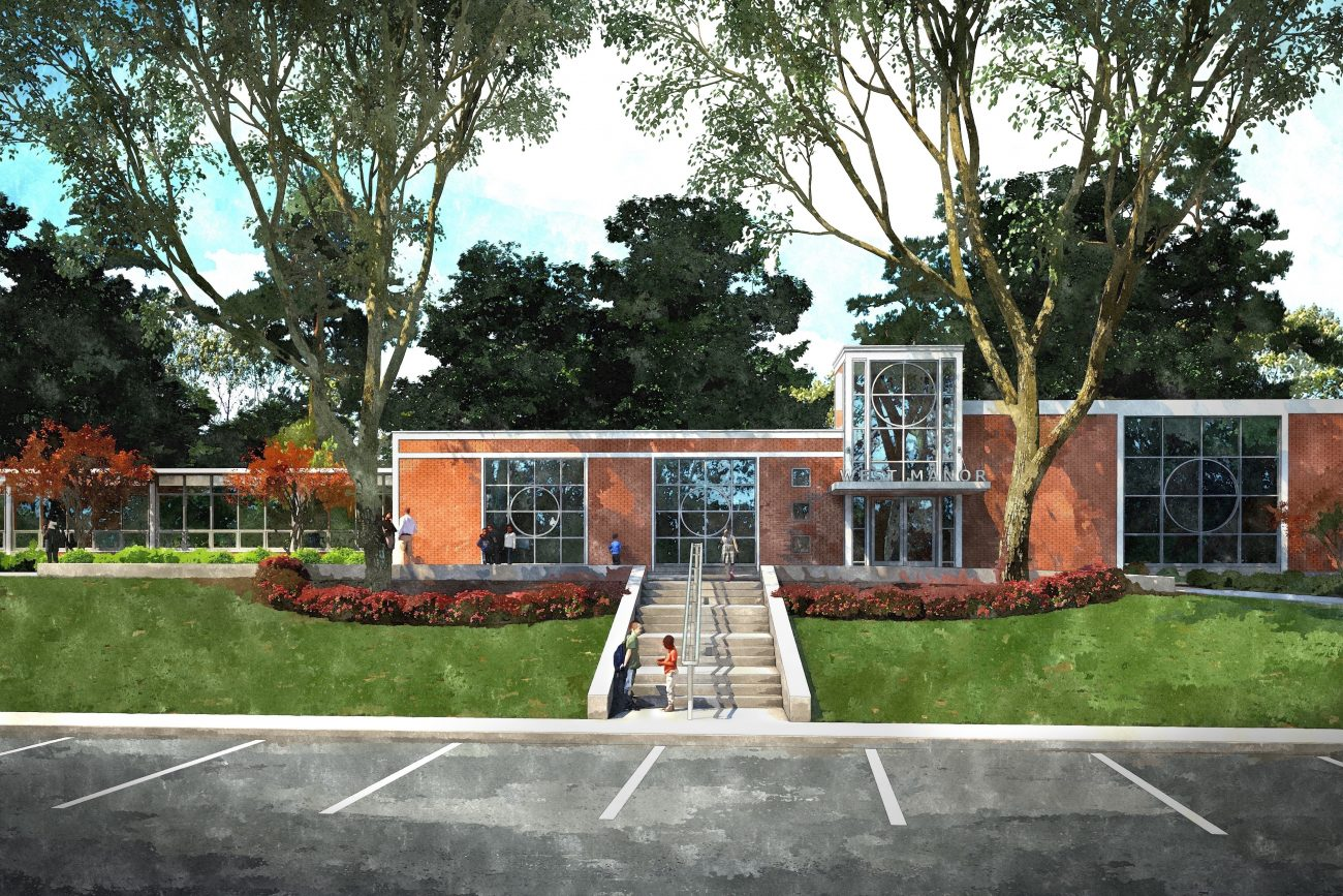 Traditional Rendering of West Manor Elementary