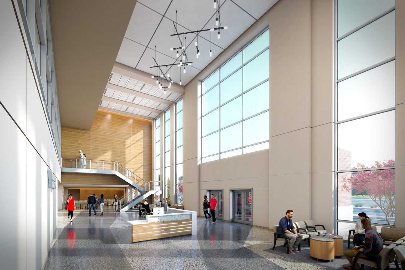 Interior Rendering of Northern Colorado VA
