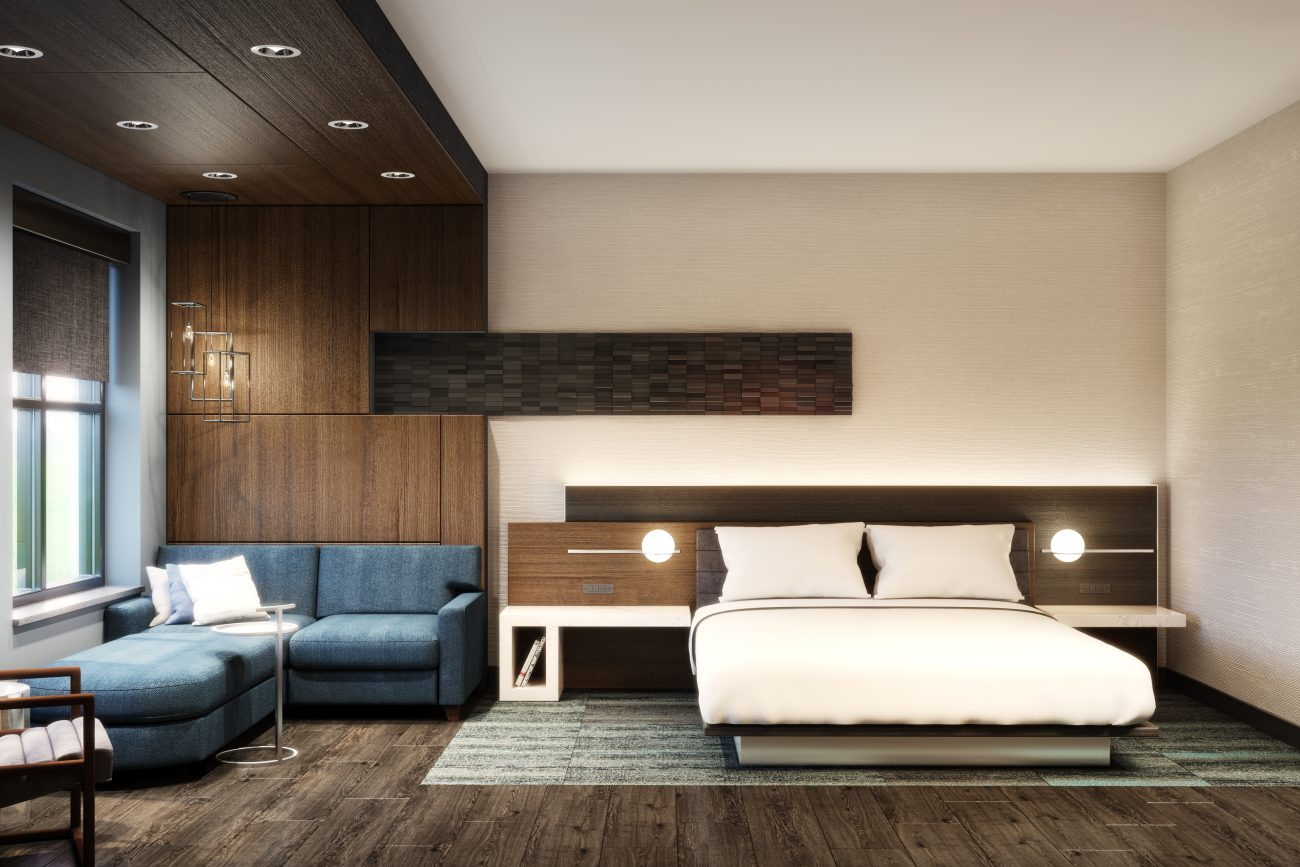 Interior Rendering of Owings Mills Marriott Room