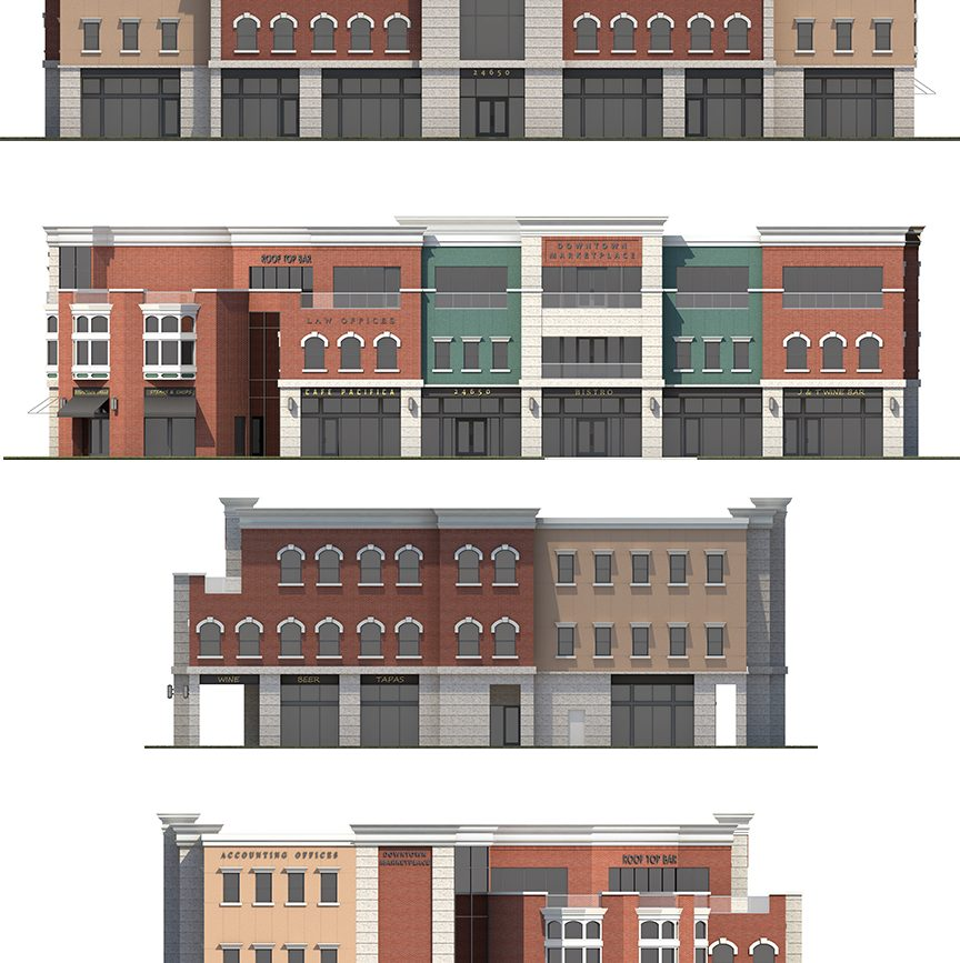 Elevation of Downtown Market