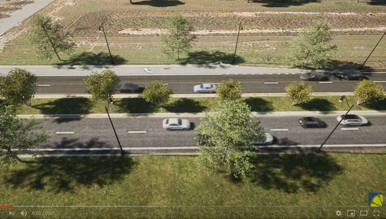 3D Architectural Animation of Doug Barnard Parkway