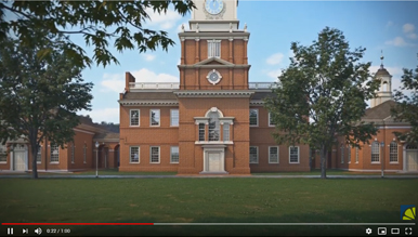 3D Animation of Independence Hall