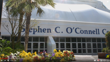 3D Animation of the Stephen C. O'Conell Center at UF