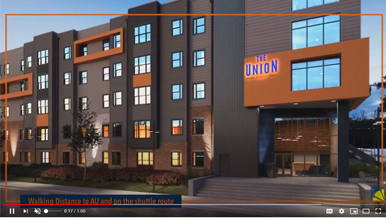 3D Architectural Animation of The Union at Auburn
